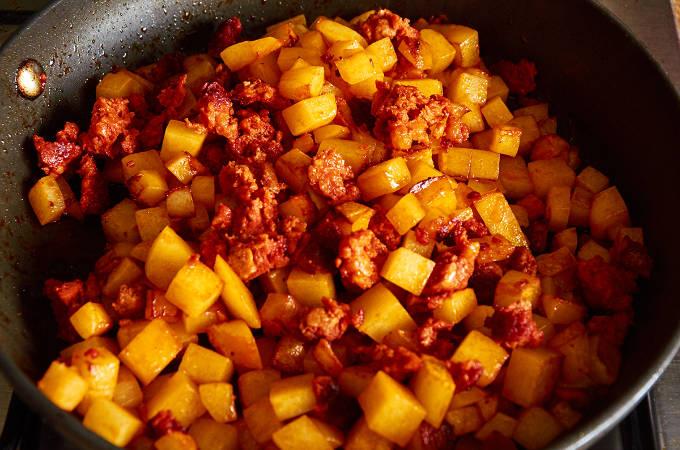Potato and Chorizo Guisado
