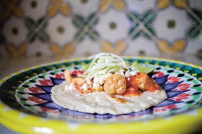 Tacos of Texas Taco de Chicharron