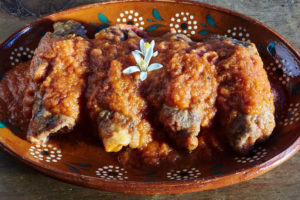 Recipe Mexican Beef Rolls in Tomato Sauce