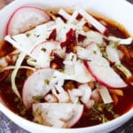 Authentic Red Pork Pozole