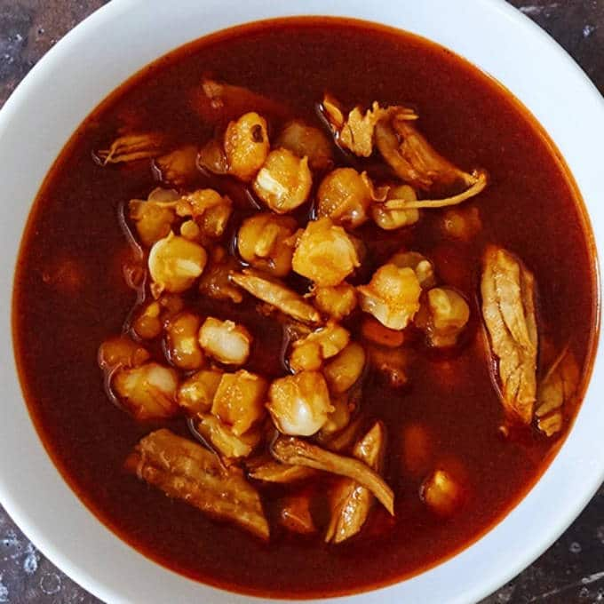 Cooked Pozole