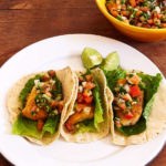 Fish Tacos with Pico de Gallo Salsa