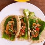 Fish Tacos with Pico de Gallo Vertical
