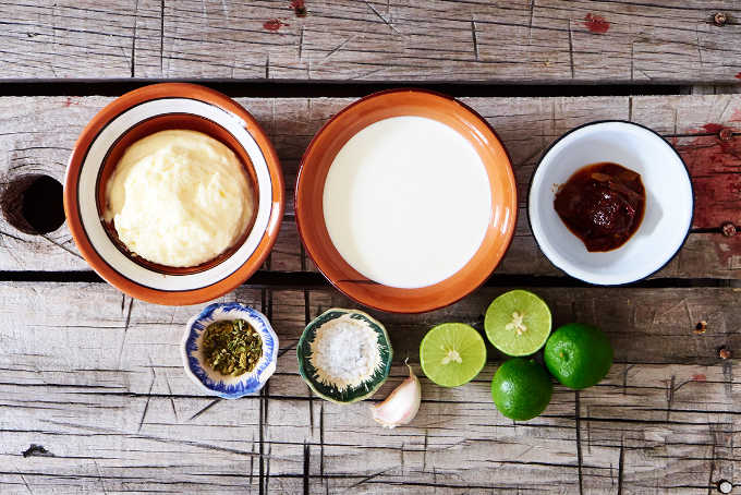 Ingredients Chipotle Fish Taco Sauce Recipe