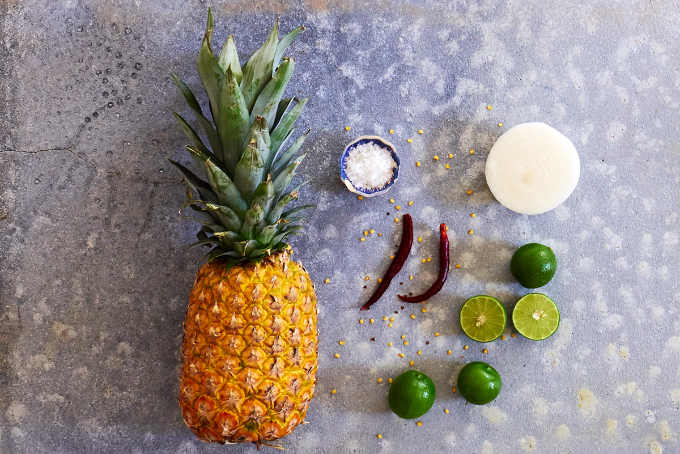 Ingredients Spicy Pineapple Salad