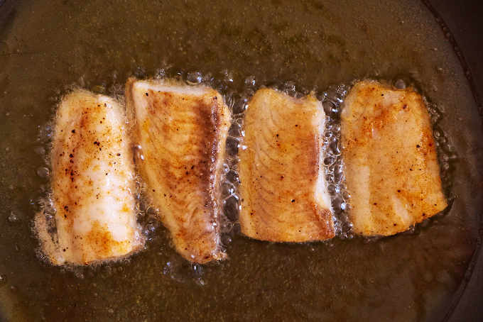 Pan Frying Fish Fillets