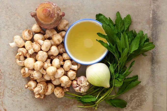 Ingredients Mexican Mushroom Soup
