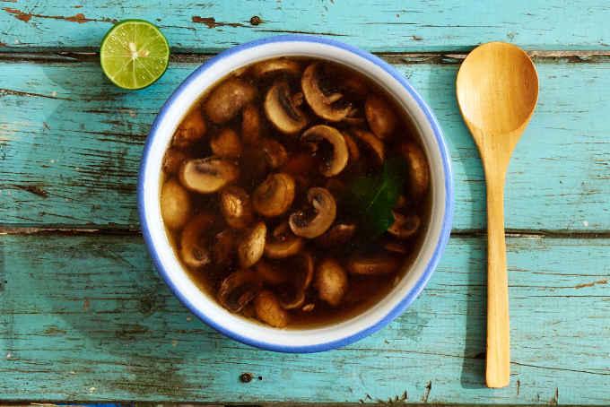 Mexican Mushroom Soup Recipe
