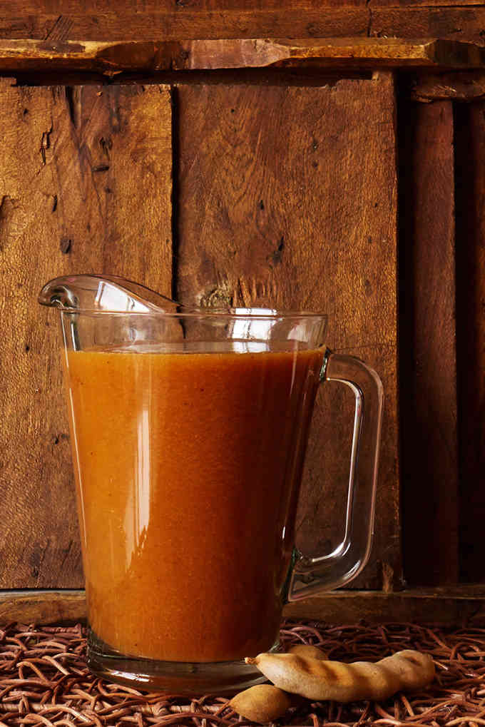 Pitcher of Mexican Tamarind Water