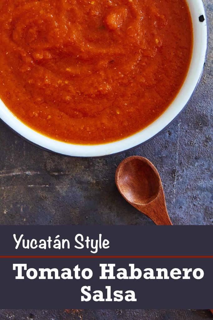 Yucatán Style Habanero Salsa