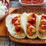 Garlic Shrimp Tacos Recipe