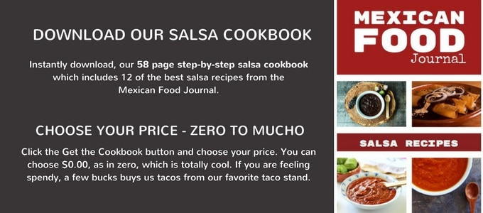 Pay What You Want Salsa Cookbook