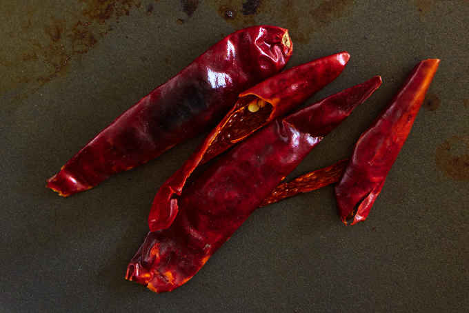 Toasted Arbol Chiles