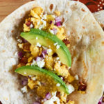 Bacon Egg Avocado Breakfast Tacos