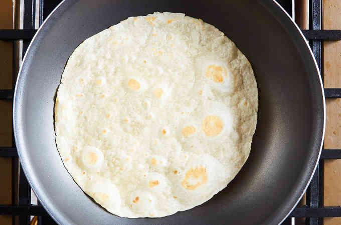 Browning Flour Tortillas