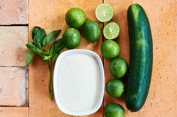 Ingredients Cucumber Water
