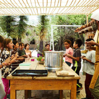 Cooking with the Students of the Waldorf School in San Miguel