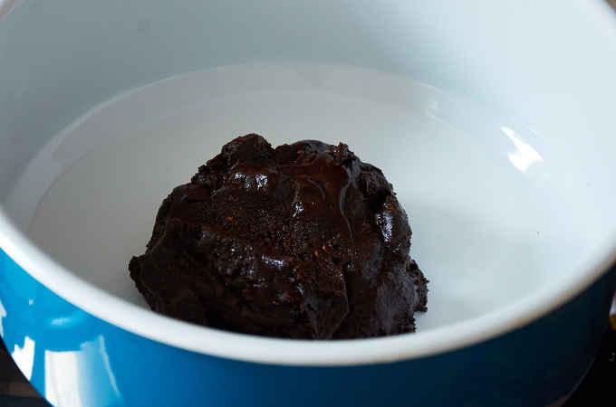 Mole Paste in Pan