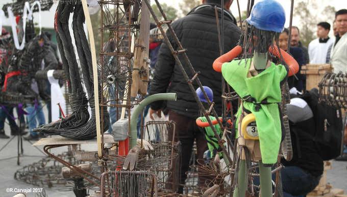 Construction Site Sculptures