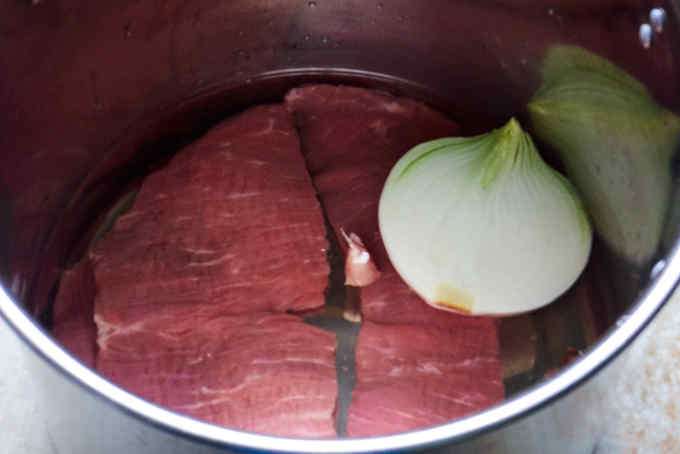 Cooking Skirt Steak by Boiling
