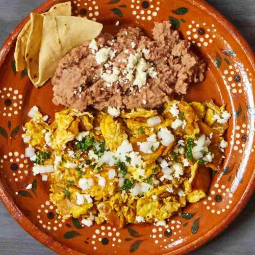 Plate of Mexican Migas