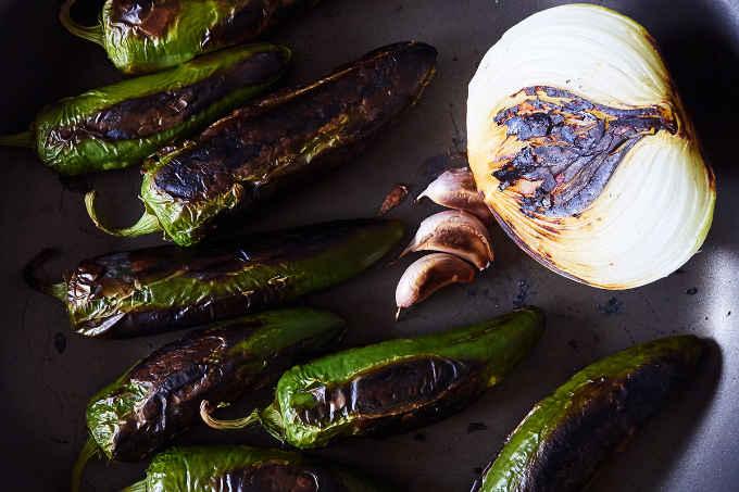Pan Roasted Jalapeño Peppers