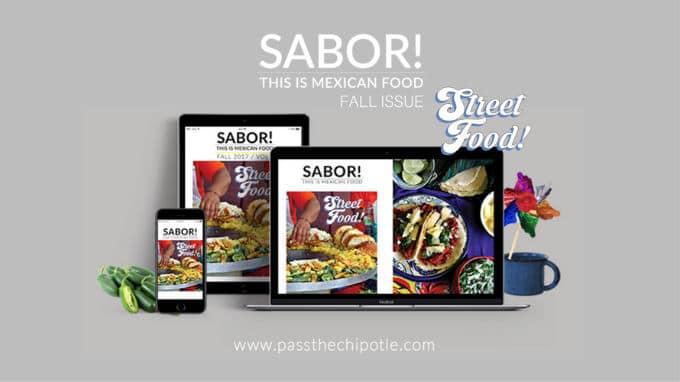 Sabor Magazine Fall 2017 Cover
