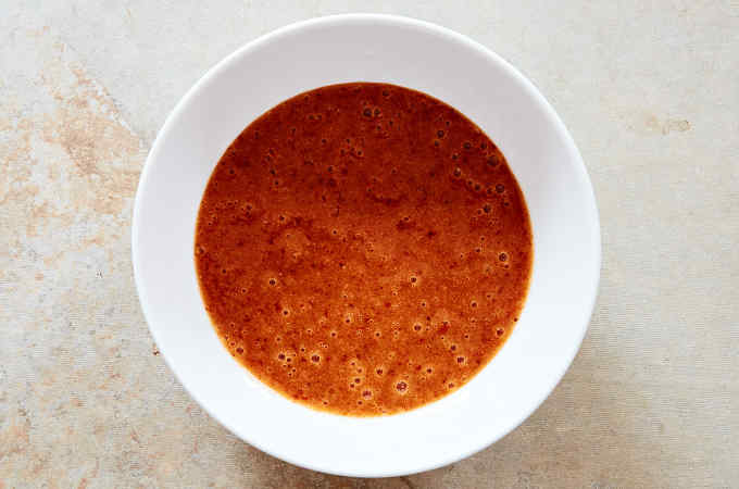 Bowl of Strawberry Chipotle Sauce