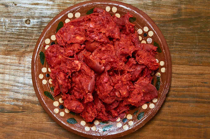 Oaxaca Style Chorizo with Casing Removed