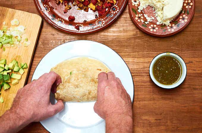 Tightly Rolling a Burrito