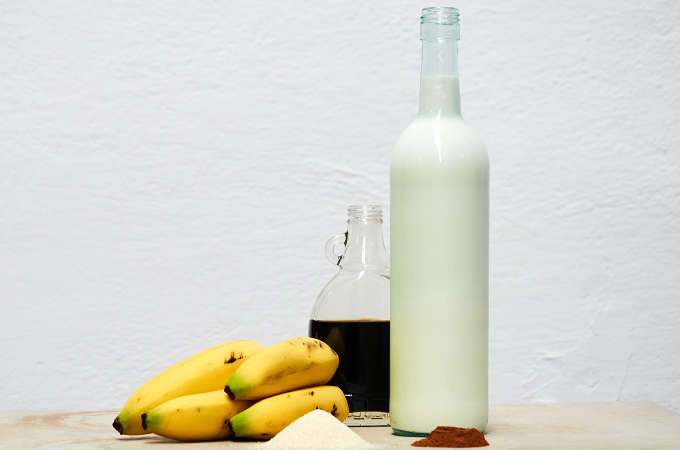 Banana Liquado Ingredients