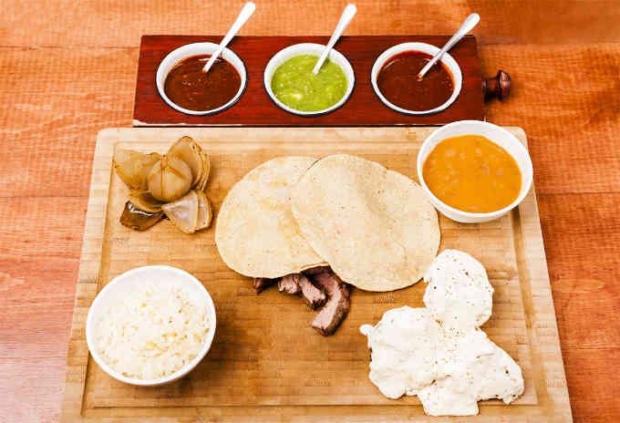 Beef Taco Platter