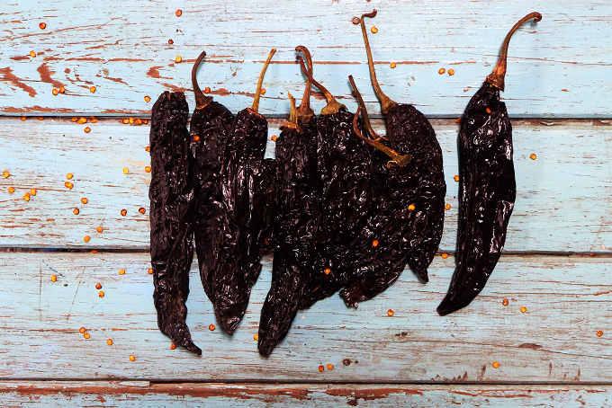 Dried Pasilla Chiles