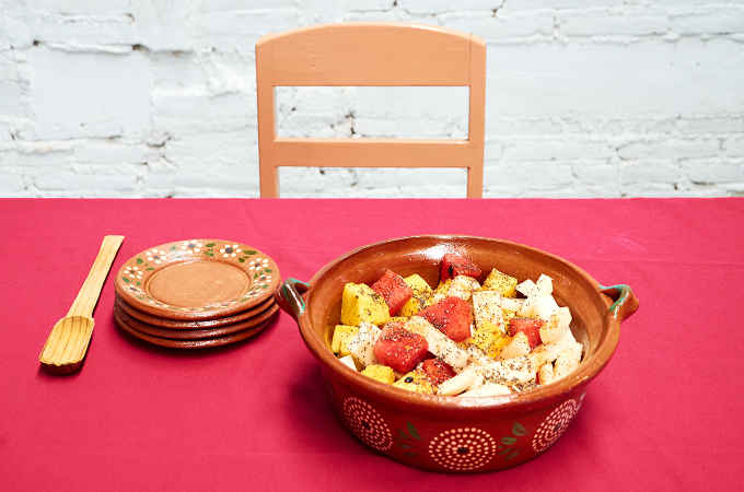 Mexican Fruit Salad with Tajin