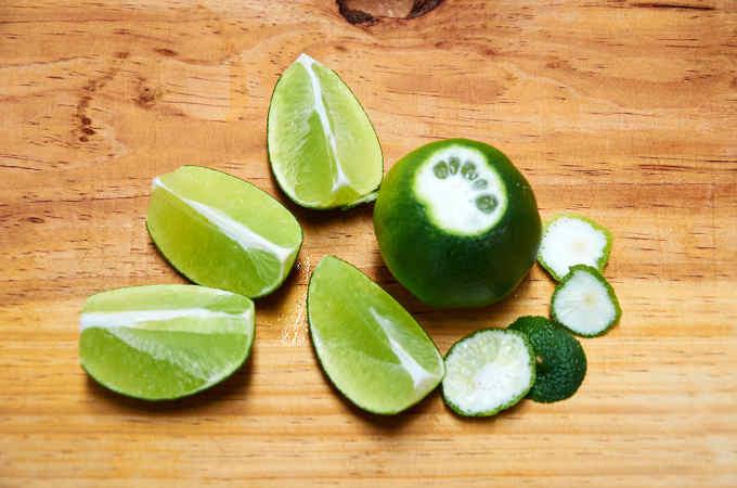 Quartered Key Lime