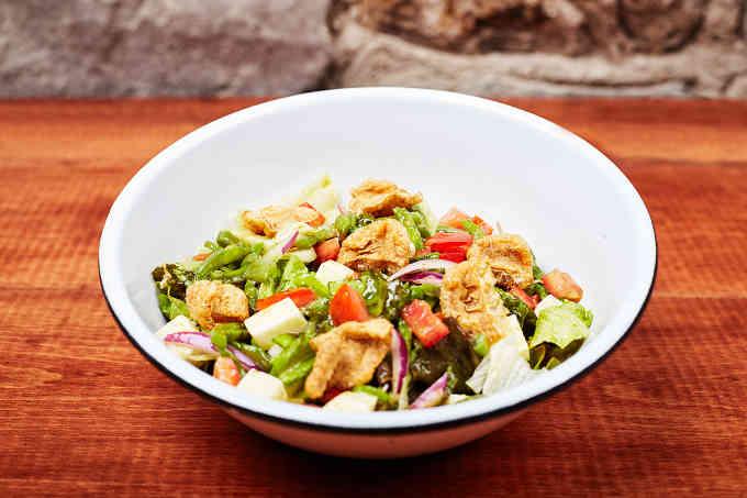 Salad with Chicharron