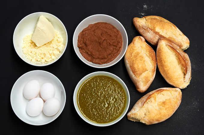 Scrambled Egg Torta Ingredients
