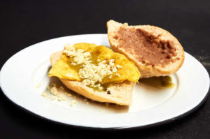 Scrambled Egg Torta with Salsa Verde