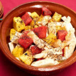 Spicy Mexican Fruit Salad with Chia