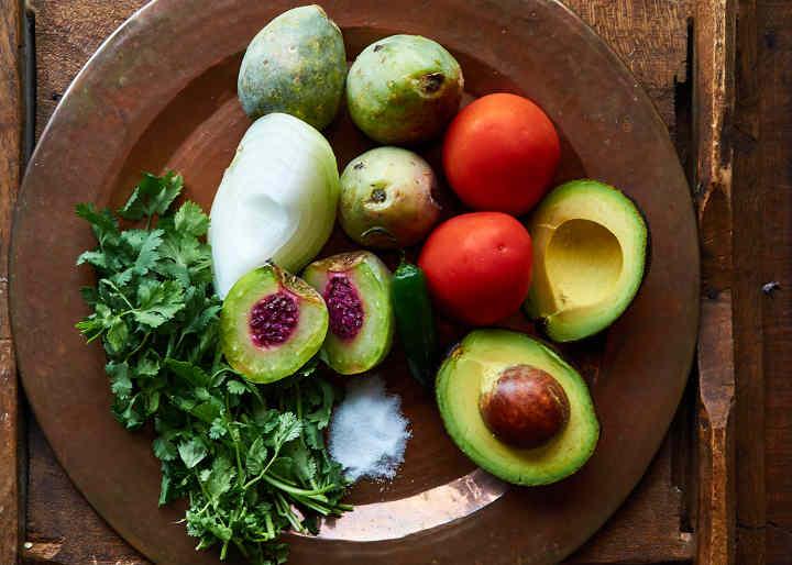 Ingredients Xoconostle Cactus Pico de Gallo