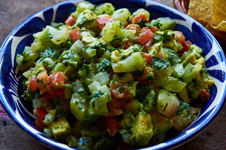 Pico de Gallo Prepared with Xoconostle Cactus Fruit
