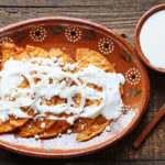 Plate of Enchiladas Potosinas