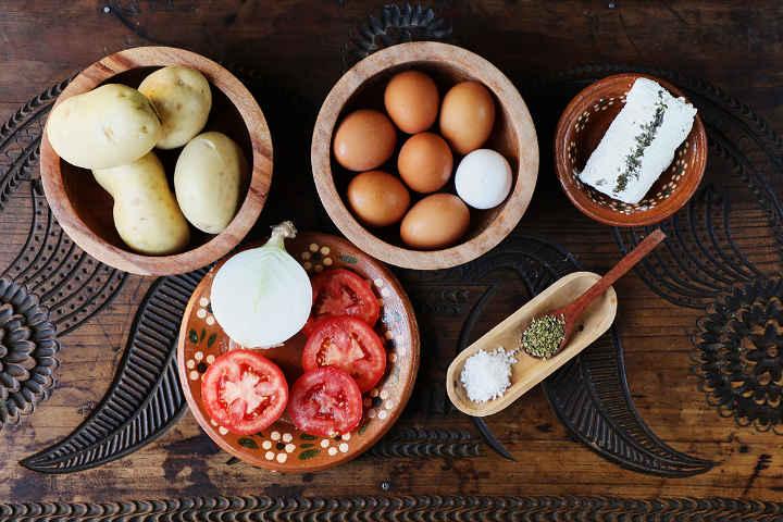 Ingredients Tortilla Española