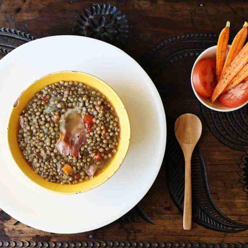 Bowl of Mexican Lentil Soup
