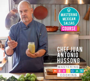 Chef Juan from Mastering Mexican Cooking