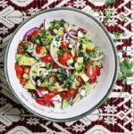 Bowl of Mexican Avocado Salad