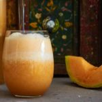 Glass of Agua de Melon