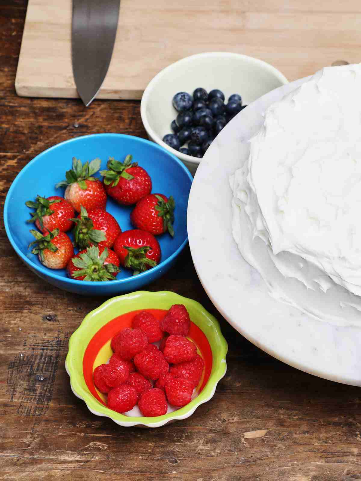 Tres Leches Cake and Berries