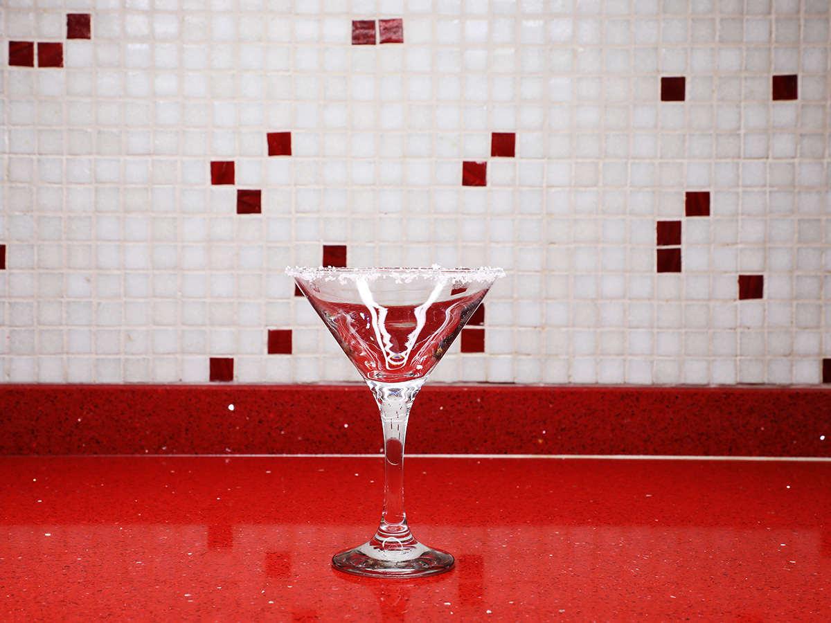 Salted Margarita Glass
