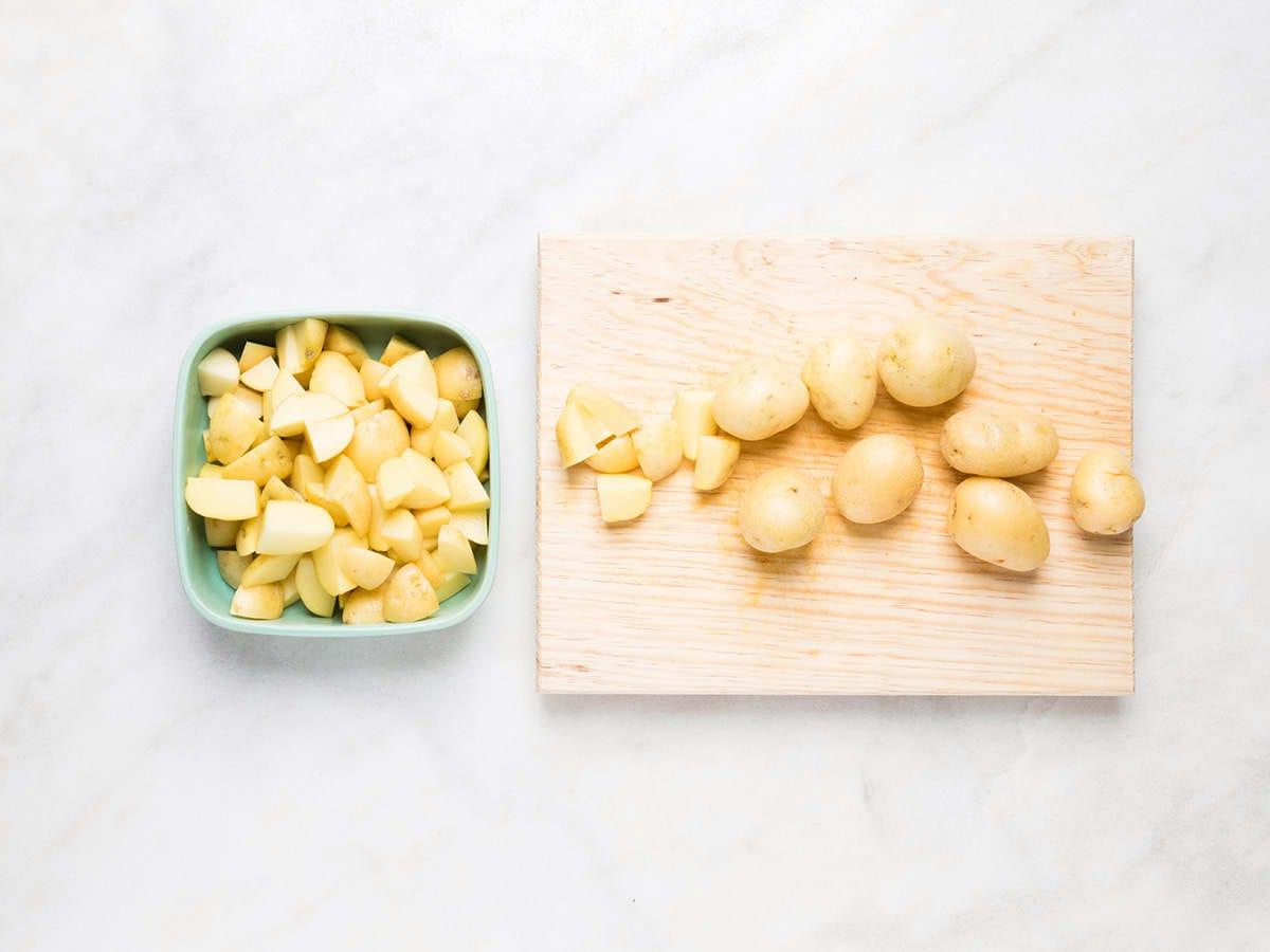 Diced Cambray Potatoes